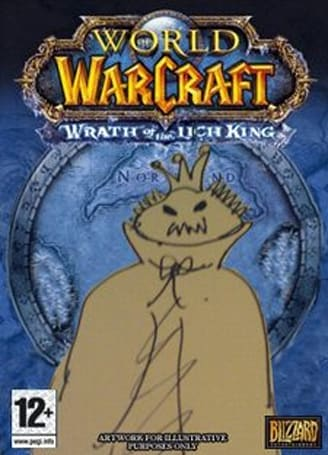 Forum Post of the Day: Get your mum to draw the Lich King