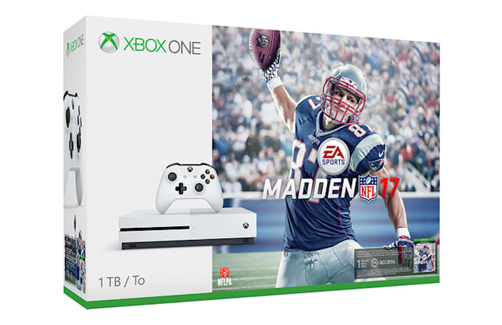 Xbox One S 'Halo' and 'Madden 17' bundles arrive August 23rd