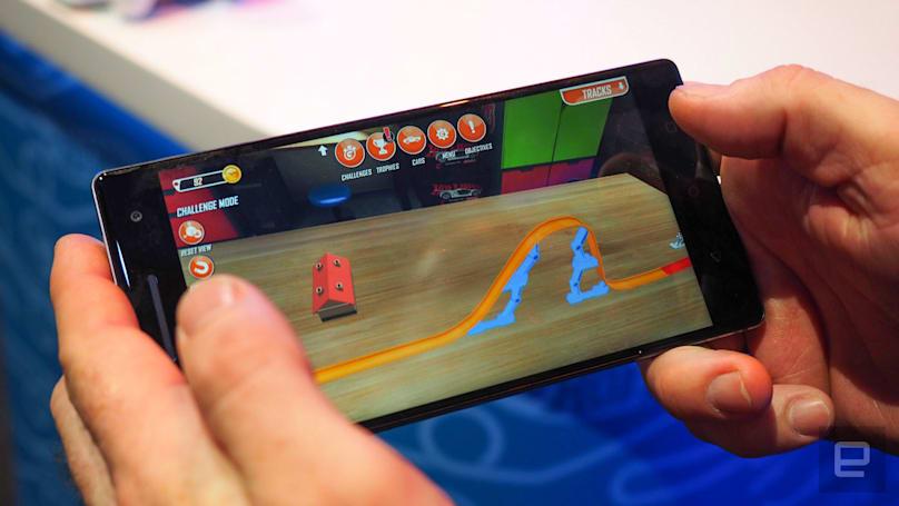 'Hot Wheels Track Builder' is an AR den for your creations