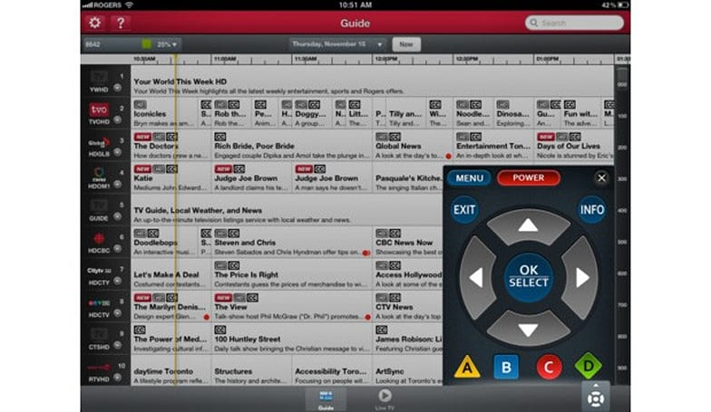 Rogers Anyplace TV Home Edition lets Canadians steer DVRs, watch live TV from iOS