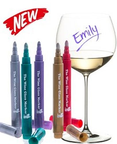 Wine Glass Markers
