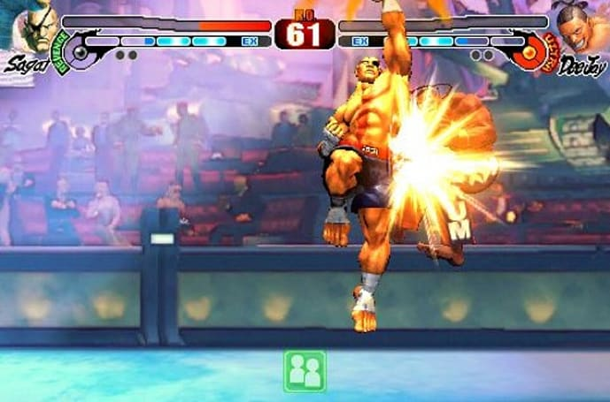 Sagat, new multiplayer mode on the way for iPhone Street Fighter 4