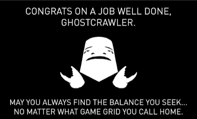The Daily Blink returns with a tribute to Ghostcrawler