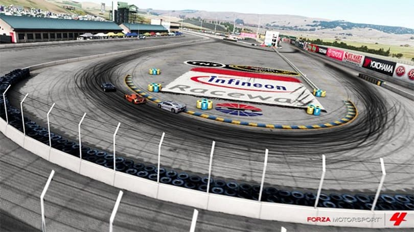 Forza 4 heads to Infineon Raceway in latest trailer