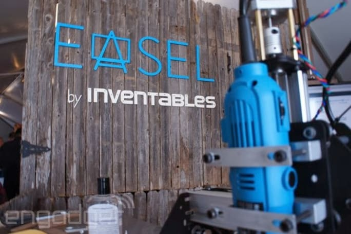 We carved a custom bottle opener with the free Easel web app