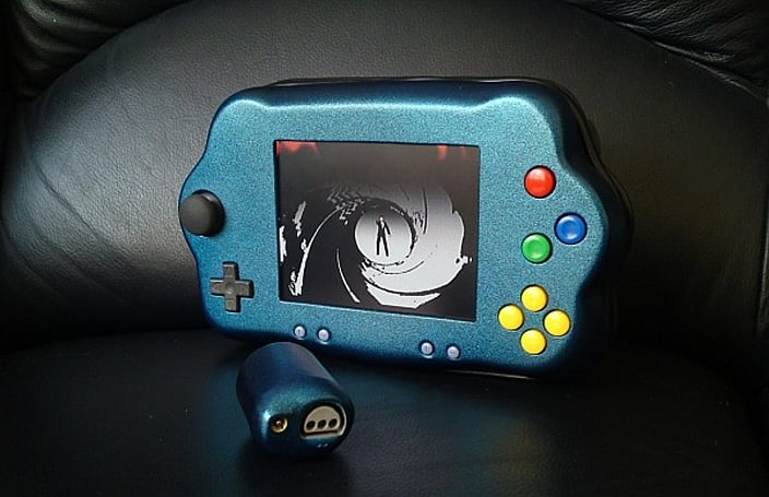 Bacteria's disciple improves upon technique, crafts N64 handheld capable of GoldenEye split-screen