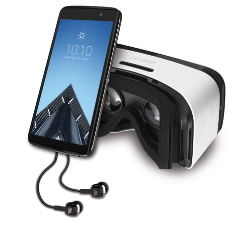 Alcatel Idol 4S arrives in the US with VR goggles for $350