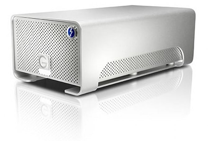 G-Technologies' G-Raid with Thunderbolt drive now on sale, yours from $700