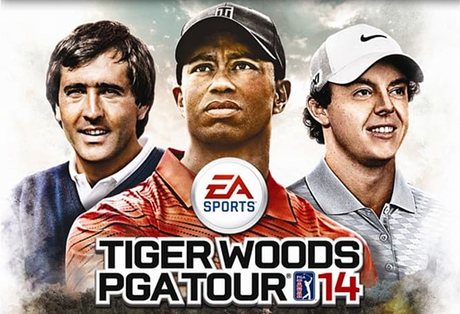 Ballesteros and McIlroy join Tiger on Euro PGA Tour 14 cover