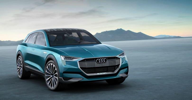 Audi E-Tron Quattro Concept is a beautiful 311-mile EV beast