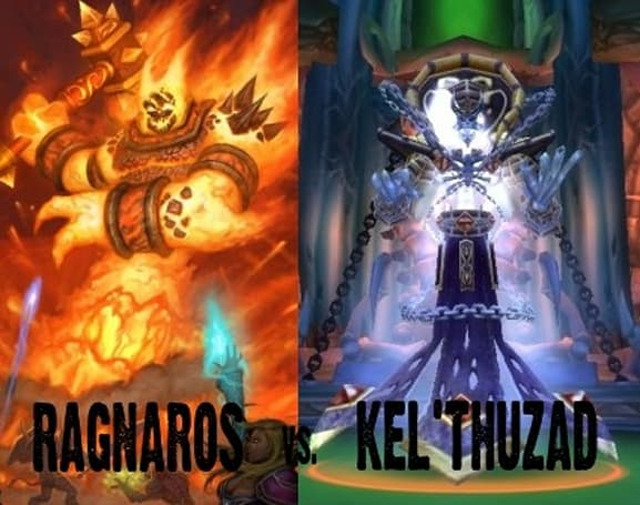 Two Bosses Enter: Ragnaros vs. Kel'Thuzad