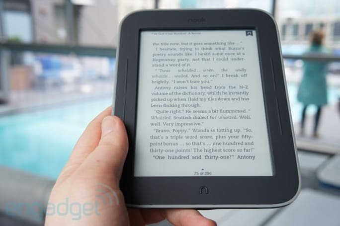 Target, Walmart list price drop for B&N's Nook Simple Touch with GlowLight to $119