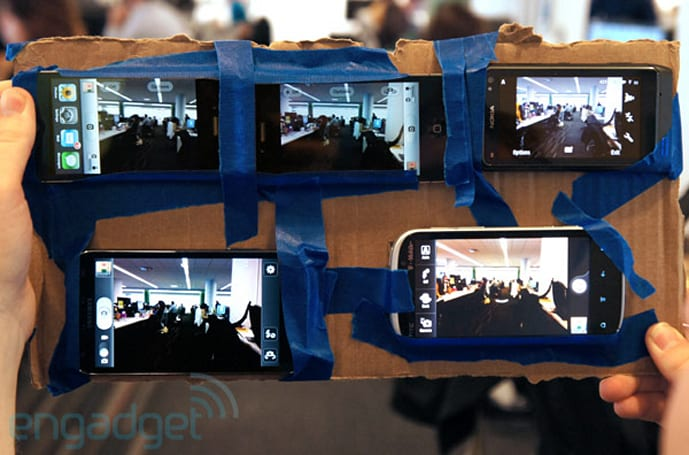 Camera showdown: iPhone 4S vs. iPhone 4, Galaxy S II, Nokia N8 and Amaze 4G (video)