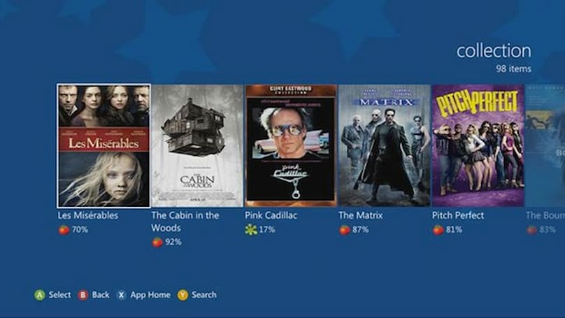 Flixster is now on the Xbox 360, UltraViolet library in-hand