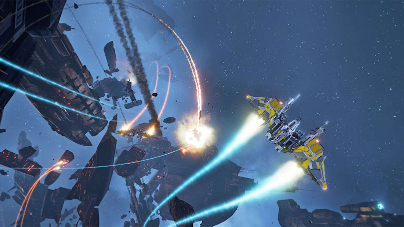 Play 'EVE: Valkyrie' with friends on any VR platform