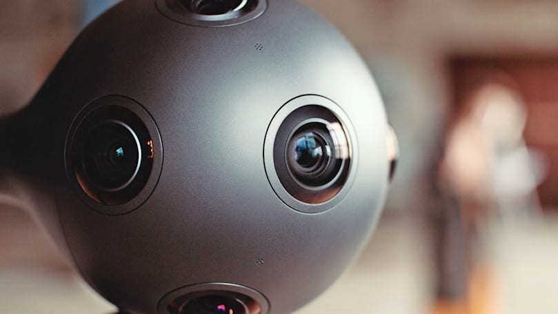 Nokia's Ozo camera now broadcasts live VR