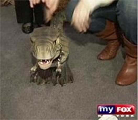 Mattel's D-Rex wants a piece of Pleo, your leg