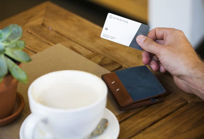 Stratos' universal credit card lives on with a new owner