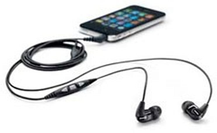 Shure's SE210m+ sound isolating earbuds include iPhone remote, $170 price tag