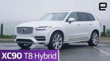 Volvo XC90 T8 Hybrid: Review