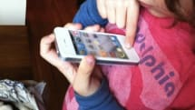 Gruber just got the fakest phone ever: a white iPhone 4 toy