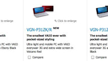 Sony UK site unveils new VAIO P with 2GHz Atom and Windows 7