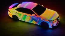 Lexus LIT IS: 42.000 LEDs machen aus Auto fahrbaren Times Square