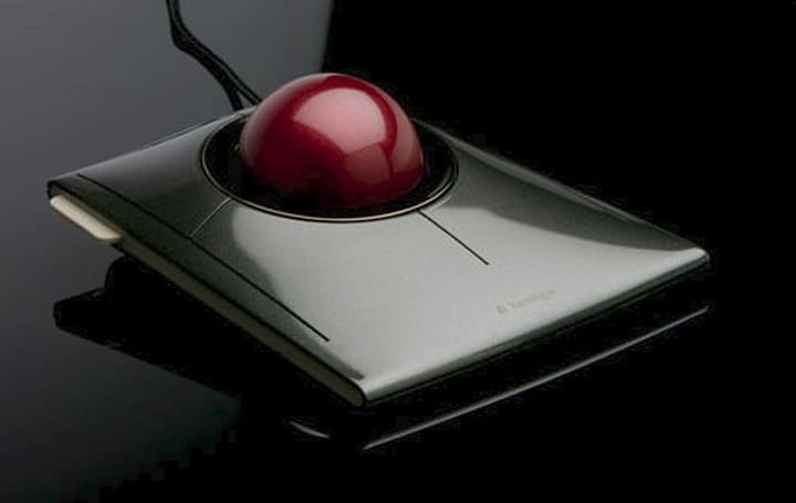 Engadget's recession antidote: win a Kensington SlimBlade Trackball!