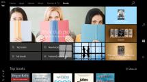 Windows 10 bekommt E-Book-Store