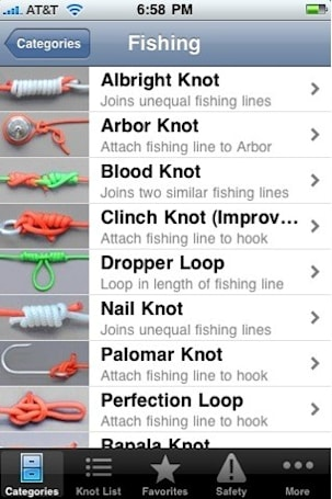 Watch knots spring to life with Animated Knots
