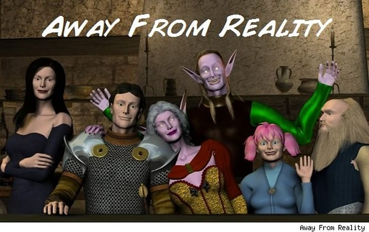 Sunday Morning Funnies: Away From Reality