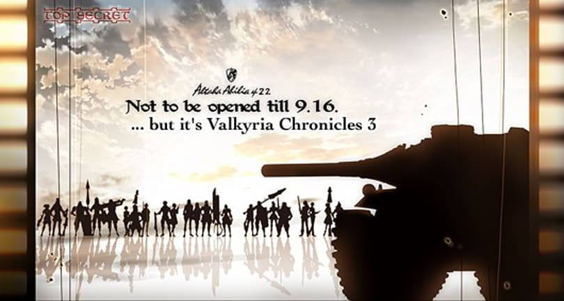 Valkyria Chronicles 3 launching on PSP in Jan. 2011