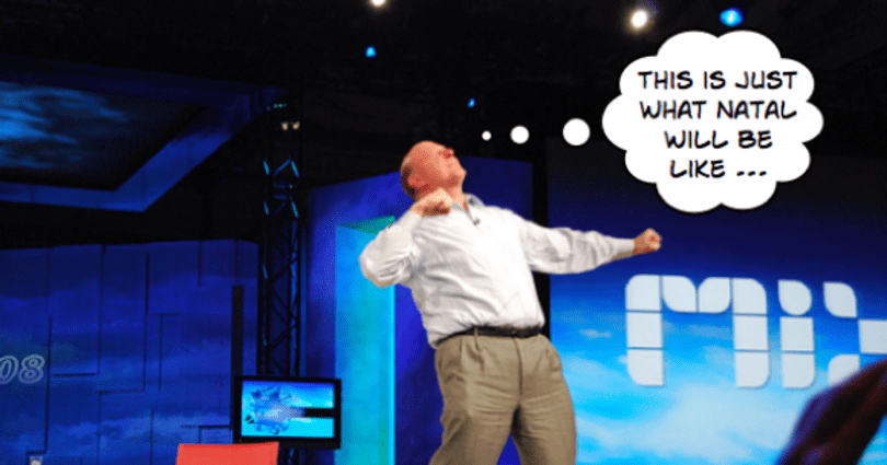 Ballmer sorry about confusing Natal 2010 statement