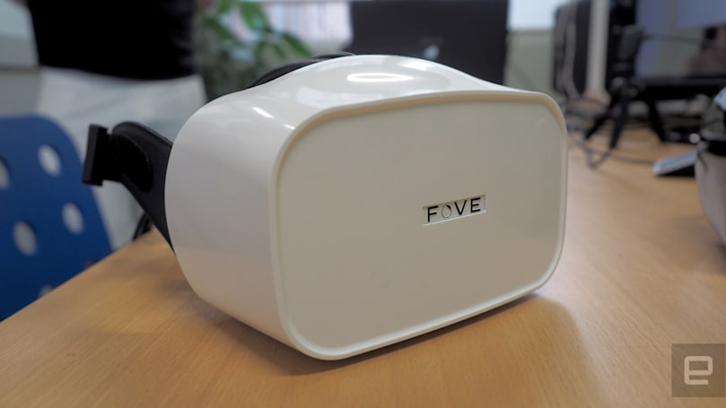 Fove's eye-tracking VR headset is up for preorder