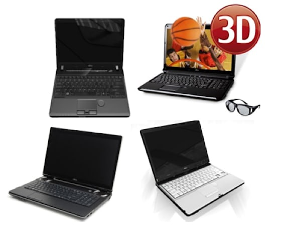 Fujitsu unleashes four LifeBooks with new Intel processors, AH572 promises 3D viewing and recording