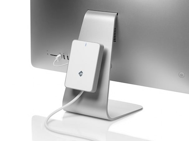 mLogic announces mBack external drive that lives on the back of your iMac