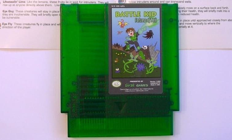 Battle Kid: Fortress of Peril for NES out (and out of stock) today