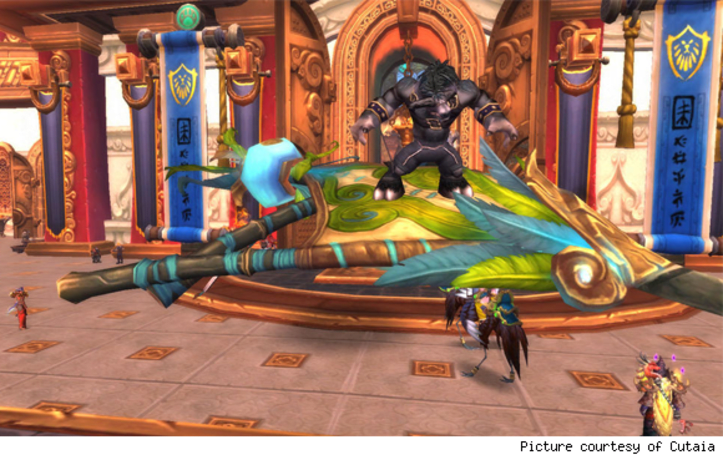 Breakfast Topic: What's your favorite vanity item in Mists of Pandaria?