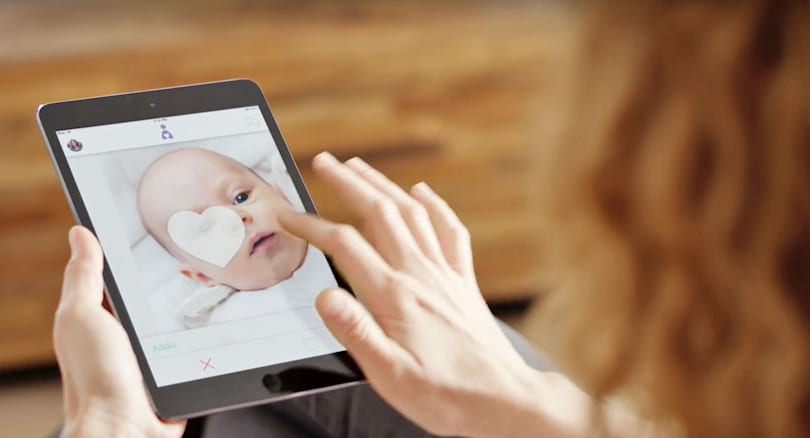 Sketchy adoption app Adoptly is a hoax after all
