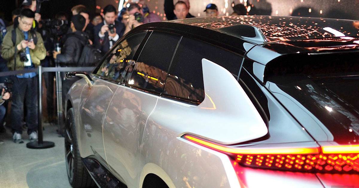 Faraday Future's first car secures over 64,000 reservations