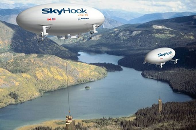 Boeing's Skyhook JHL-40 blimp gives us hope for yesterday's future