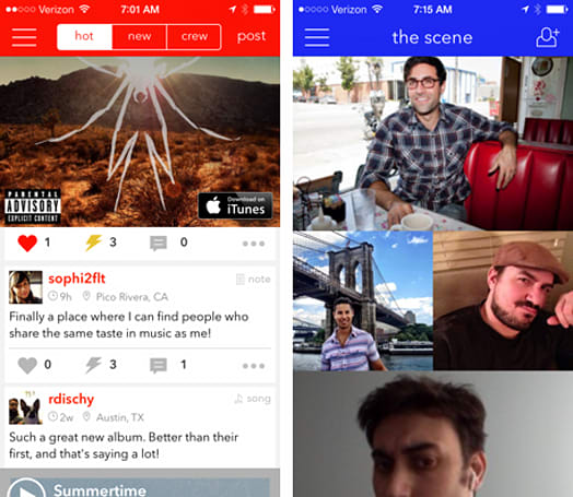 Daily App: LuckyPennie lets you discover and chat about your favorite music