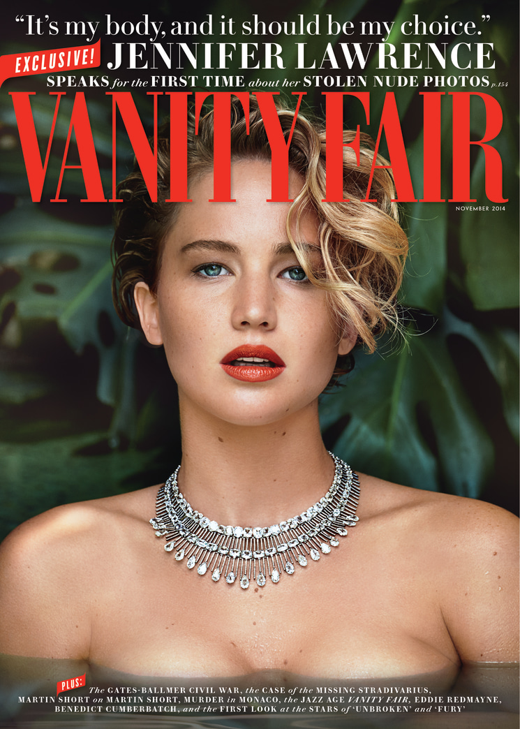 Jennifer Lawrence: 'I didn't tell you that you could look at my naked body.'