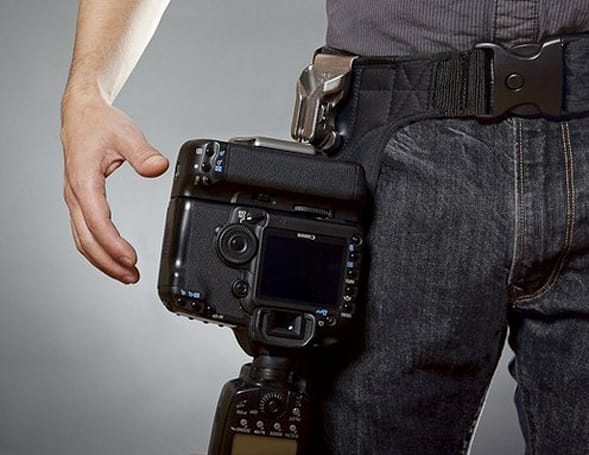 Spider Camera Holster system lands for retail (video)