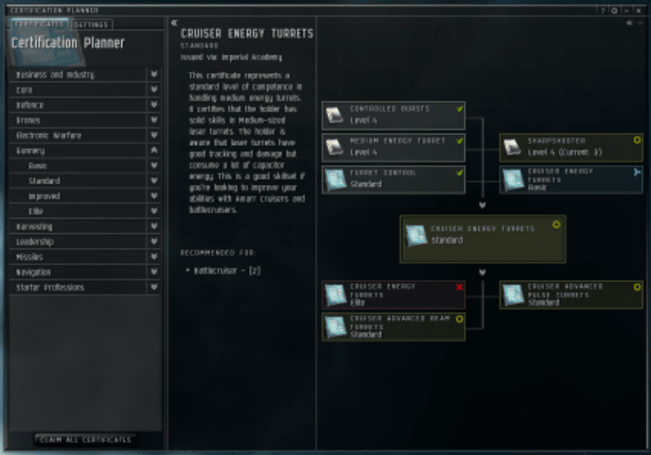Certificates and medals coming to EVE Online