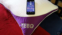 The Zeeq smart pillow is the Swiss Army knife of bedding
