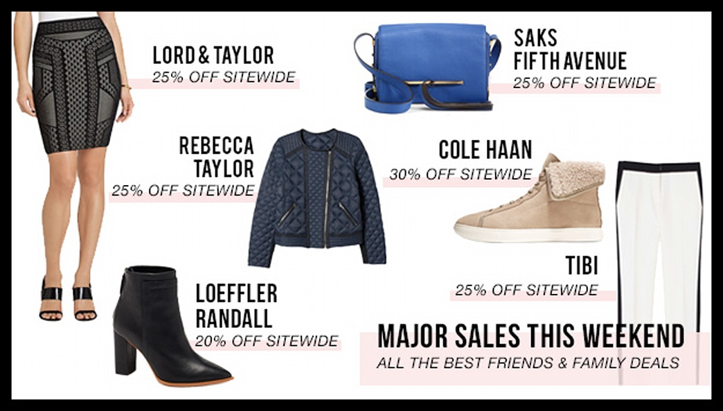 The best Friends & Family sales to shop this weekend