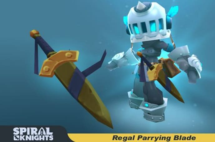 Treat yourself to a freebie from Spiral Knights for Black Friday!