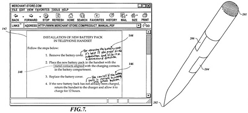 Amazon patents intelligent pen for adding annotations to digital and printed media (updated)