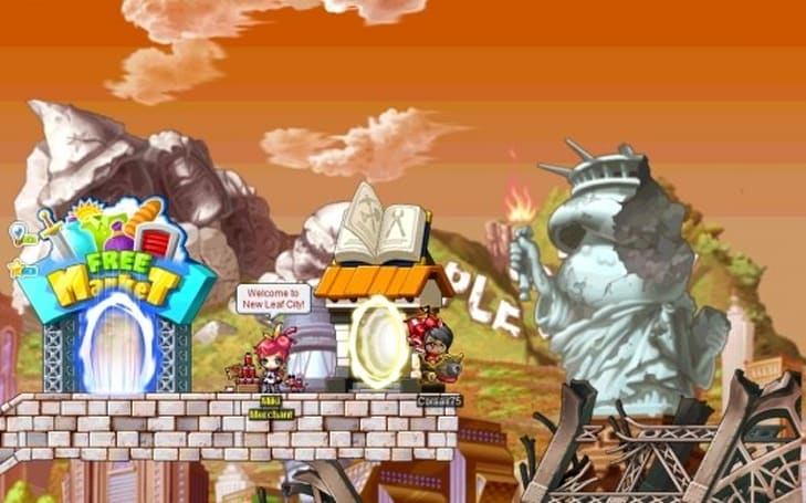 MapleStory lands on Steam with special offers